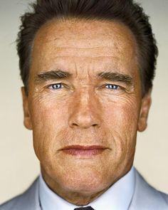 Arnold Schwarzenegger by Martin Schoeller