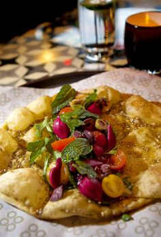 Mamnoon's Mideast cuisine - reviewed by the Seattle Times. It all sounds delicious.