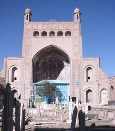 Khwaja 'Abd Allah Ansari shrine 1425, Herat, Afghanistan.