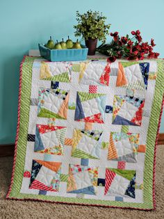 Angles with Ease book quilt