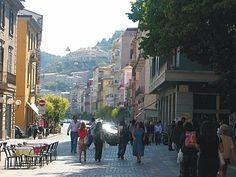 Corso Mazzini, Cosenza, Calabria. It's gotten really pretty within the last few years.