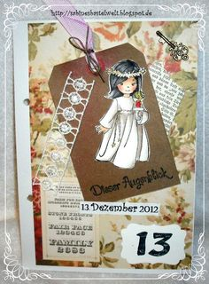 ♥Sabinesbastelwelt♥ December Daily, Books, Art, December, Art Background, Libros, Christmas Calendar, Book, Kunst