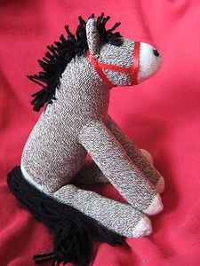 Rockford Red Heel  Sock Monkey  Pony -  Horse!  My 14 year old needs this pattern.  Does anyone know if its out on youtube?