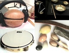 Four sessions for hand percussion