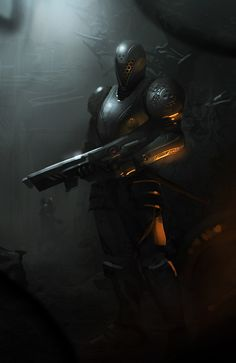 Cyber Warrior by PE-Travers on deviantArt
