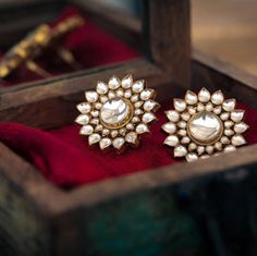 Beautiful Real Kundan ear ring - cooliyo.com