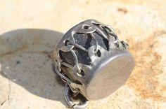 vintage sterling charm indian | Vintage hand made sterling silver Indian drum charm. ... | Charm brac ...