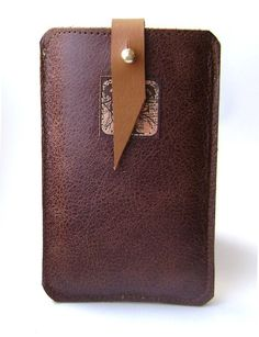 leather iphone case.