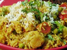 Masale Bhat (Maharashtrian Wedding Delight)