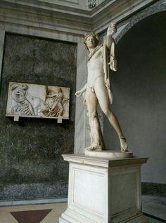ROMA  Musei Vaticani - Apollo del Belvedere