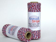 Baker's Twine - Airmail Stripe.