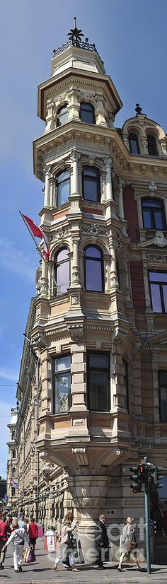 The Grönqvistin building in Helsinki, Finland • photo: RCC Gerber on My Best Helsinki