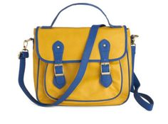 Royal blue engagement bag| Modcloth.com   I WANT THIS THING!!
