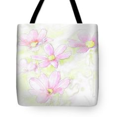 Flowers Tote Bag featuring the photograph Some Flowers. by Nhi Ho Thi Xuan