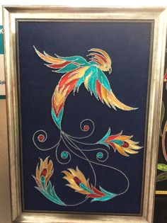 Çan halk eğitim merezi Cd Crafts, String Crafts, Michigan Go Blue, Thread Art, Art N Craft, Journal Paper, Wood Creations, Old Art, Handmade Home
