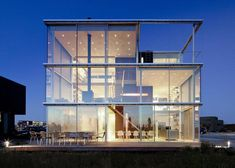 Rieteiland House Made Of Glass. love