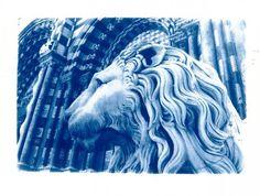 """Genova in blu. Elisabetta Papone presenta una mostra che sarà aperta fino al 3 Novembre intitolata: """"Genova in blu. La città nei cianotipi di Carmen Romeo e Daniele Campi Martucci. Tutta questione di filtri e il risultato appare ai non esperti una magia e all'occhio del foto"""