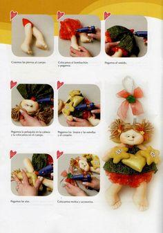 Muñecos soft navidad 2015 - Revistas de manualidades Gratis Crafts To Do, Cactus, Teddy Bear, Christmas Ornaments, Toys, Holiday Decor, Corner, Google, Ideas
