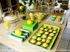 "Photo 1 of 14: Bridal/Wedding Shower ""Kelsi's Lemon + Lime themed bridal shower"" 