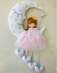 In a late or partial birth abortion, the baby is killed by snipping the spinal cord at the base of the neck. Baby Crafts, Felt Crafts, Diy And Crafts, Crafts For Kids, Felt Name Banner, Baby Mobile, Baby Sewing Projects, Felt Baby, Felt Toys