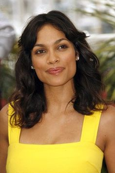 "Rosario Dawson, who I pictured for Brooke in ""Water's Blood"" by Elaine Calloway - she was who I imagined when writing the novel."
