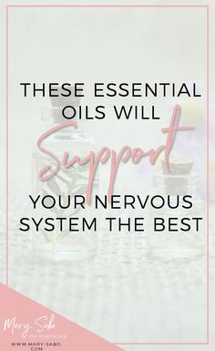 These Essential Oils will Support Your Nervous System the Best // Mary Sabo, The Singing Yogi -- #healthhacks #hollistichealth Spearmint Essential Oil, Essential Oils 101, Headache Relief, Anxiety Relief, Copaiba Oil, Limbic System, Healthy Brain, Ways To Relax, Best Blogs