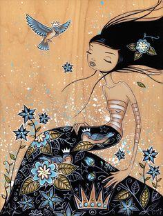 Blue Snooze - Caia Koopman www.caiakoopman.com/