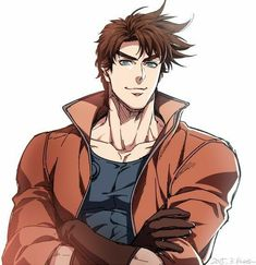 """Joseph """"JoJo"""" Joestar is my favorite one! Anime Meme, Anime Manga, Anime Guys, Adventure Tumblr, Jojo's Adventure, Jojo's Bizarre Adventure Anime, Jojo Bizzare Adventure, Jojo Bizarro, Jojo Part 2"""