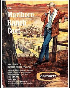 We don't make the Marlboro Ranch Coat anymore, but our gear's just as durable as its always been—no matter if it's 1889, 1965, or 2016. #TBT