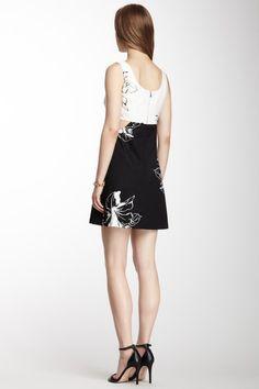 Nanette Lepore Matthew Cutout Print Dress on HauteLook