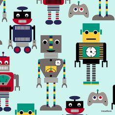 Cuddle Kids Robots 97 cm - Liesellove