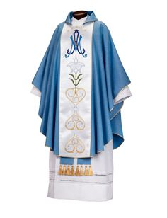 Seven Hills Series – Vestments | Chasubles – Gaspard. Not sold on the color (I think liturgical blue should be darker) but I like the style.