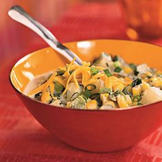 Corn and Potato Chowder - Quick-and-Easy Vegetarian Recipes - Cooking Light