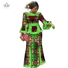 Ankara skirt and blouse styles short dresses,Africa For Women Fashion Dashiki Wrist Sleeve African Clothes for Party ,African Dresses For Women African Print Long Dresses Dashiki Dress,African party dress , African skirt and blouse