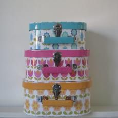 Home Accessories - Kitchenware - Retro Floral Storage Cases - Two Birds Home Accessories & Gifts