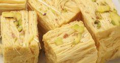 Patisa (Soan Papdi) Preparation Time:- 45 - 50 minutes Makes:- 20 pieces Patisa Ingredients: 1 1/4 cup gramflour 1 1/4 c...