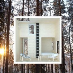 Hotel room in a treehouse