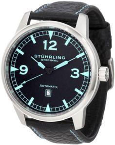 #Stuhrling #Original Men's 129XL.335565 Sportsmans Tuskegee Warhawk Automatic Date Black #Watch       watch       http://amzn.to/H9QWhv