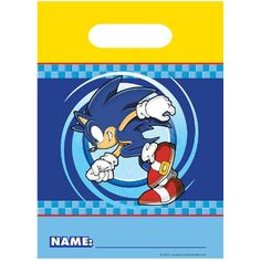 Sonic Treat Bags (8 count) Party Accessory