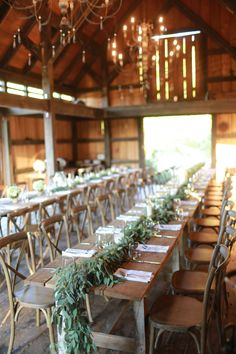 Rehearsal dinner in the barn Rustic Wedding Suit, Rustic Wedding Colors, Rustic Wedding Backdrops, Rustic Wedding Venues, Spring Wedding Flowers, Wedding Reception, Wedding Ideas, Barn Wedding Flowers, Wedding Cake Table Decorations