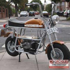 1974 Fantic TX7 Classic Ultra Rare Mini Monkey Bike for Sale | Motorcycles Unlimited
