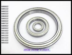 1pcs 6815ZZ 6815 ZZ 75x95x10mm Metal Shielded Thin Wall Deep Groove Ball Bearing Brand New