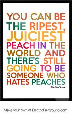 peach hater ;-)