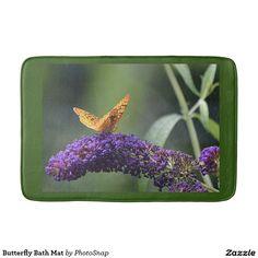 Butterfly Bath Mat Bath Mats
