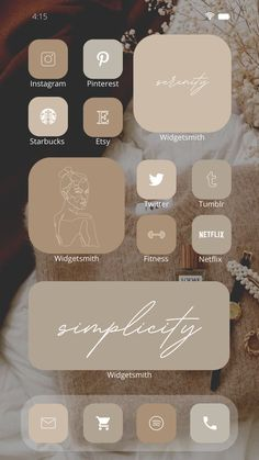 Iphone Wallpaper App, Iphone App Layout, New Ios, Phone Organization, Ios Icon, Beige Aesthetic, Laptop Computers, Ios App, Homescreen