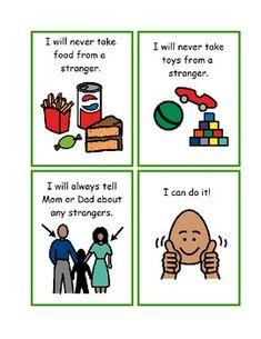 Stranger Danger Social Story (Help for not... by Visual Helper Special Education Autism | Teachers Pay Teachers