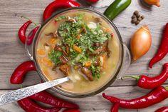 מרק פטריות בריא: גשם או לא גשם, מרק צבעוני עם טעם מרגיע, עשיר ומנחם תמיד יכול להתאים לנו