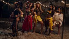 Photos from Fifth Harmony's 'All In My Head (Flex) ft. Fetty Wap' video.