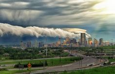 Twitter / BradenLatam: Quite the cloud formation over ...
