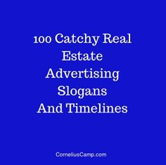 real estate advertising words